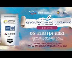 Embedded thumbnail for Кубок России по плаванию на открытой воде 2021. Сенной. I этап.
